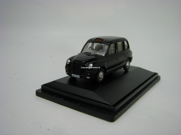TX4 Taxi black Cab 1:76 Oxford